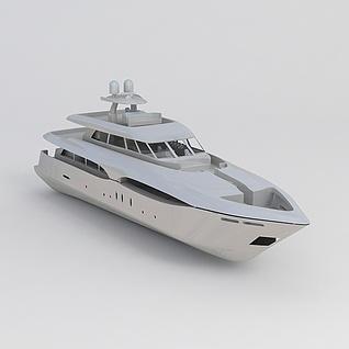 豪华游轮3d模型