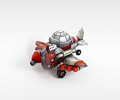 飞船模型3d模型