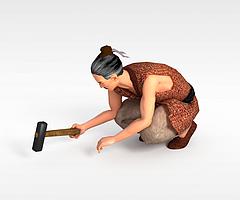 古代人物3D模型3d模型