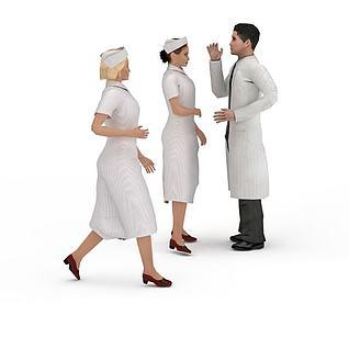 医务人员3d模型
