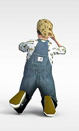 3d男孩模型