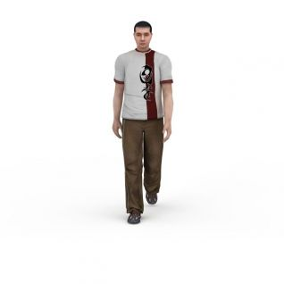 中年男人3d模型3d模型