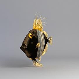 海水鱼模型