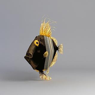 海水鱼3d模型
