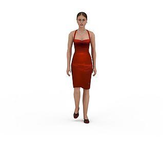 性感女人3d模型3d模型