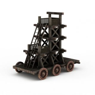 古代战车攻城车3d模型3d模型