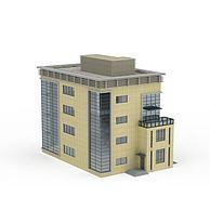 办公楼配楼3D模型3d模型