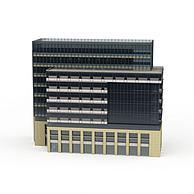 商业办公楼配楼3D模型3d模型