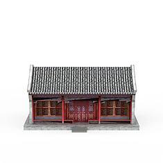 古代元素建筑3D模型3d模型