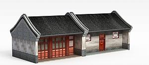 古建民居模型