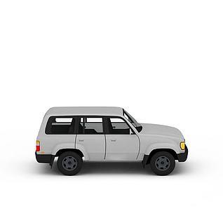 吉普轿车3d模型3d模型