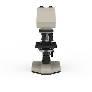 显微镜3d模型