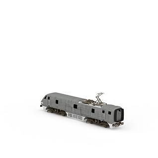 和谐列车头3d模型3d模型