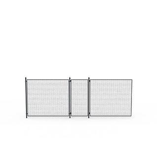 铁网围墙3d模型