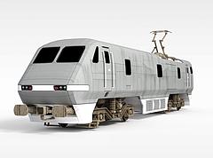 和谐列车头模型3d模型