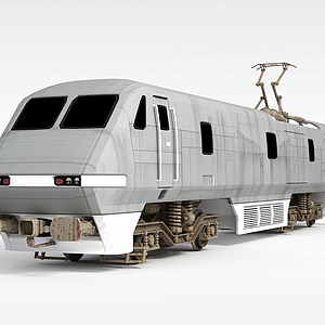 3d和谐列车头模型
