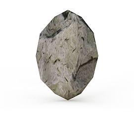 3d陨石模型
