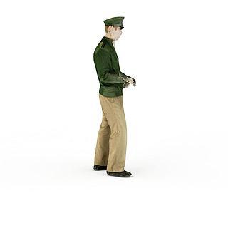人物男人3d模型