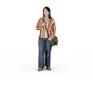 <font class='myIsRed'>人物</font>女人3d模型