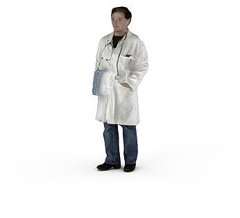 人物男男人医生