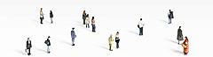 人物人群3D模型3d模型