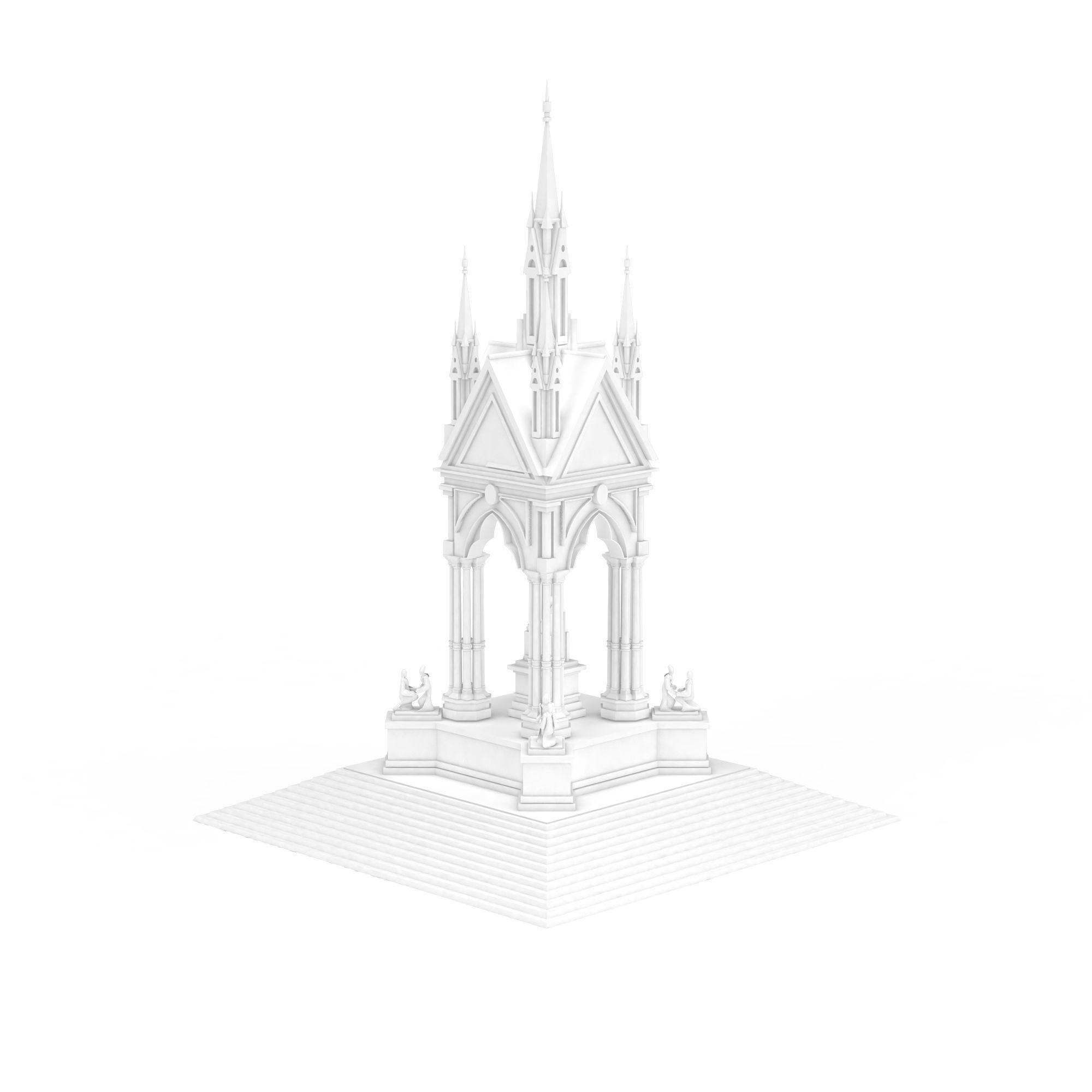 青岛地标建筑线稿