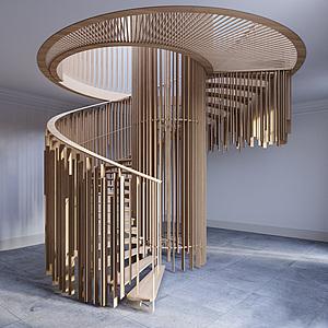 创意楼梯模型