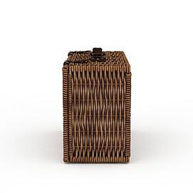 编织箱子3d模型