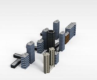 3d配楼模型