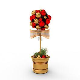 圣诞装饰3D模型