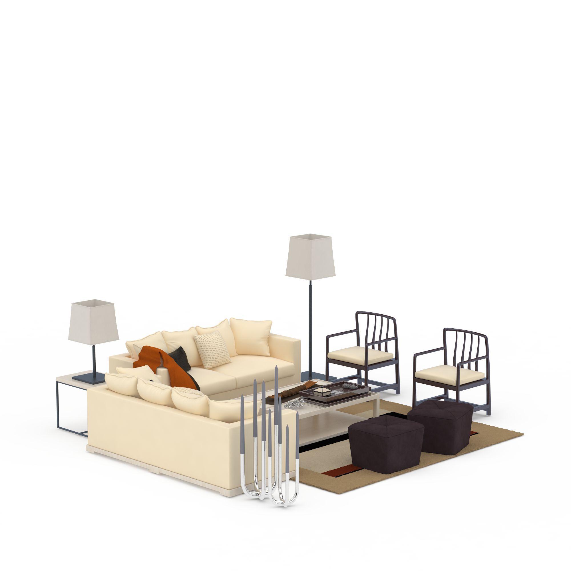 客厅组合沙发图片_客厅组合沙发png图片素材_客厅组合