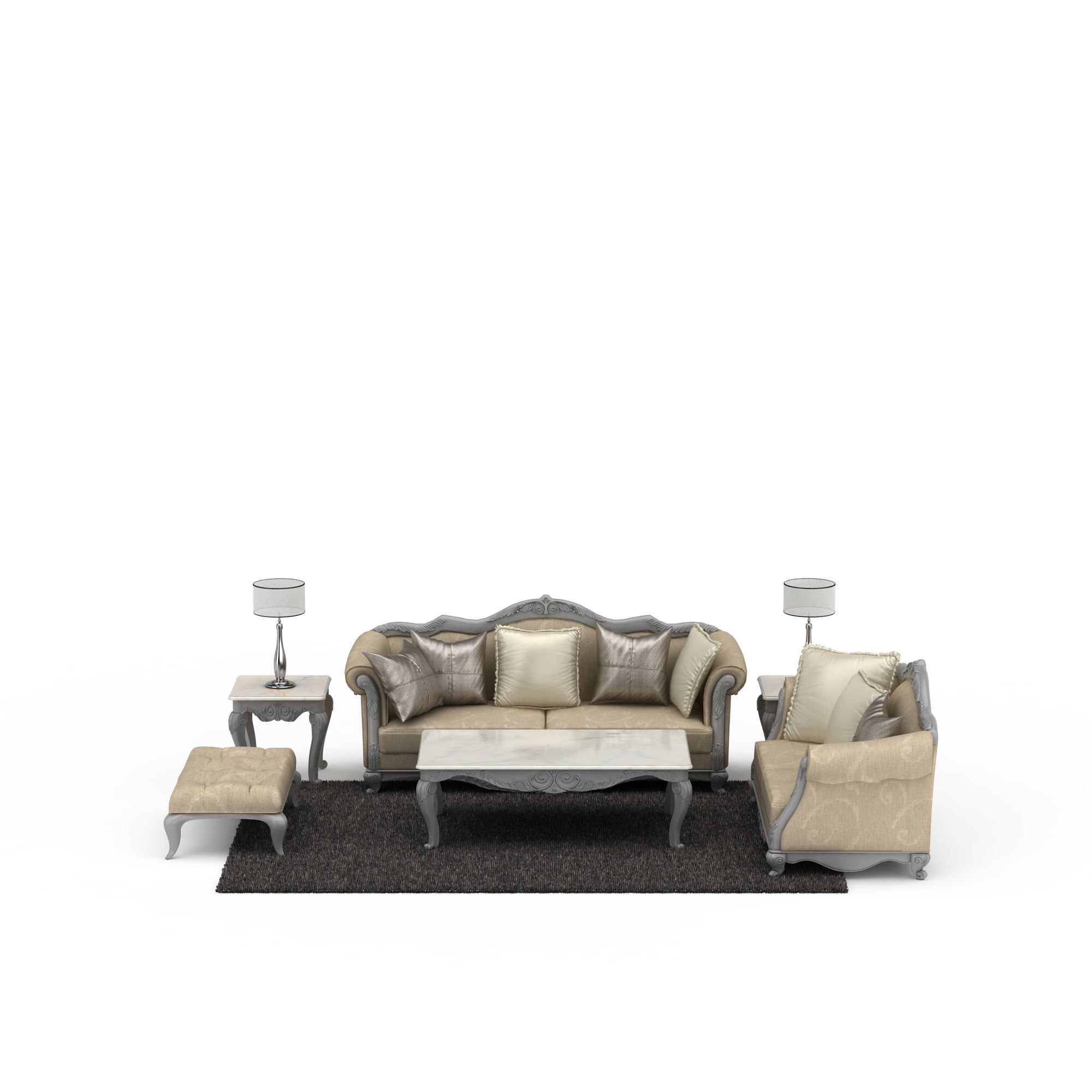 欧式风格沙发高清图下载图片