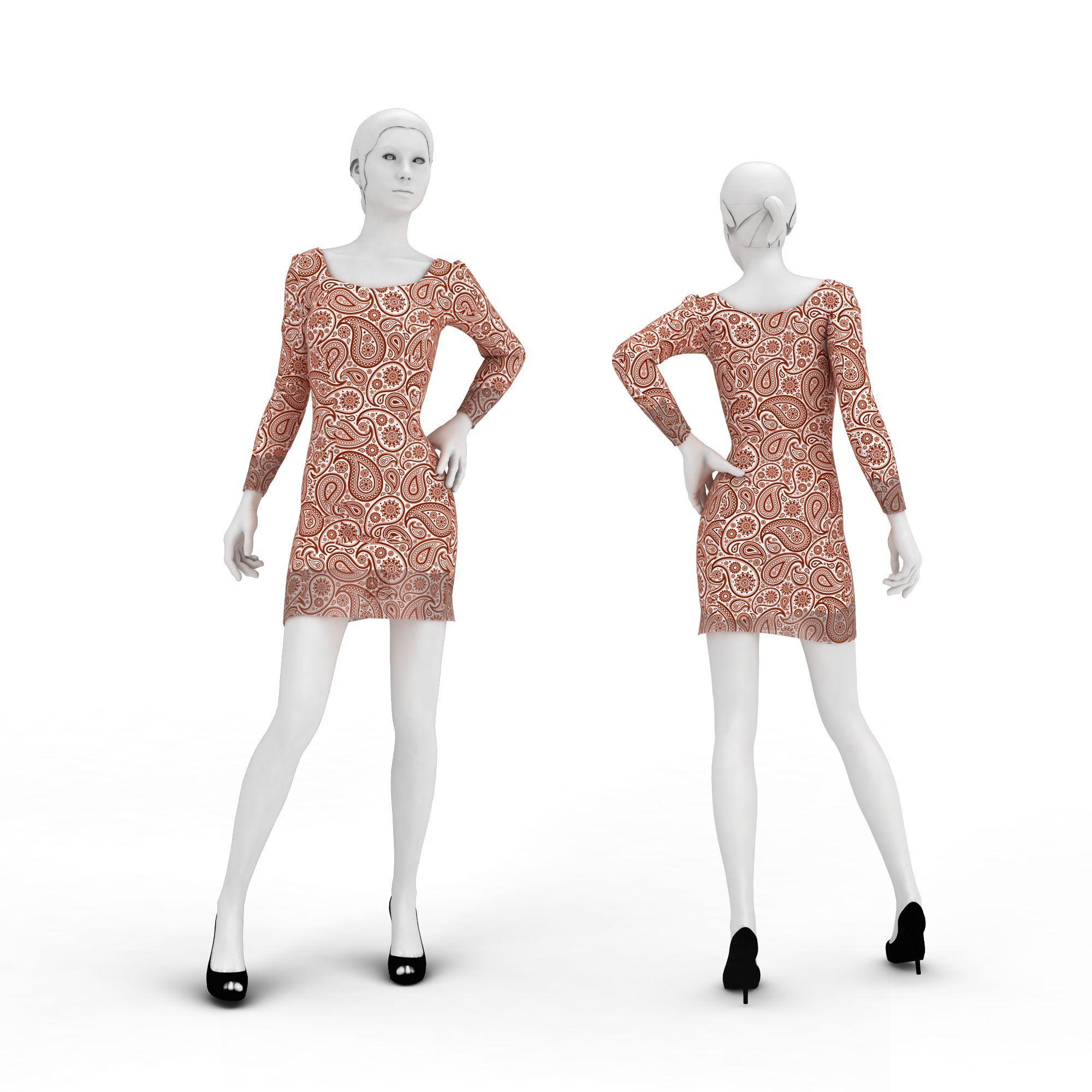 现代女装模特高清图下载