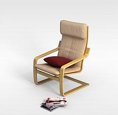 休闲椅模型3d模型