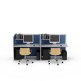 3d简易<font class='myIsRed'>办公桌</font>模型