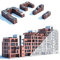 建筑配楼3D模型3d模型