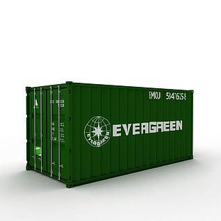 3d集装箱模型