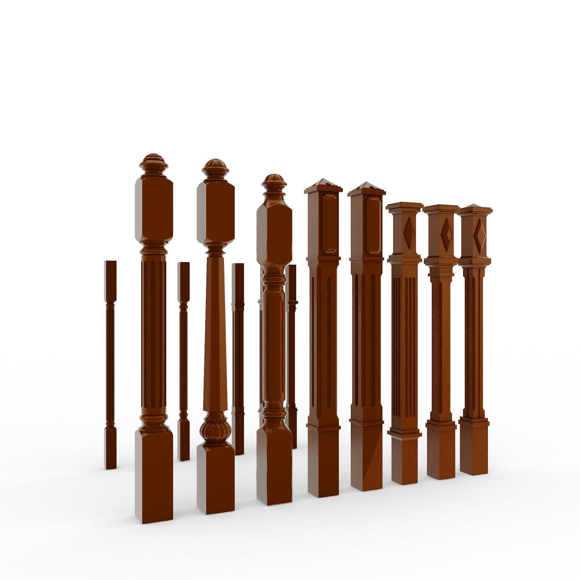 上传时间 2015/12/23  关键词:木质栏杆3d模型现代实木栏杆3d模型欧式