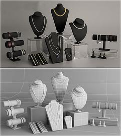 珠宝展示道具3d模型