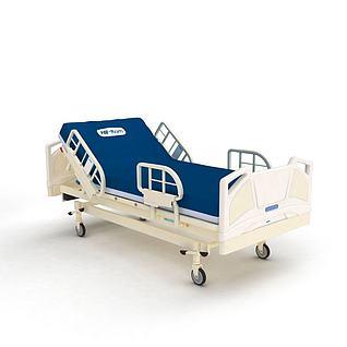 医院病床3d模型