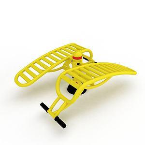 3d公园健身器材模型