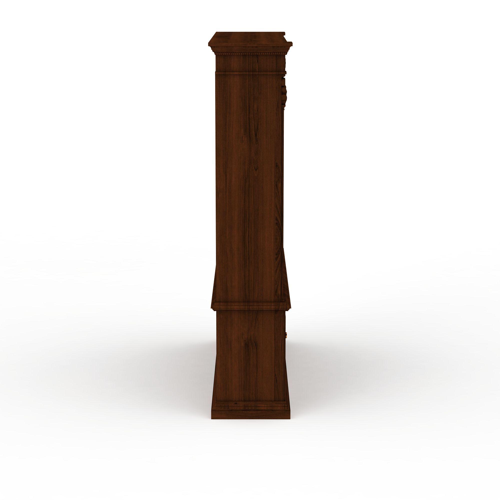 中式风格书柜高清图详情 设计师 3d学院 模型名称 中式风格书柜3d图片