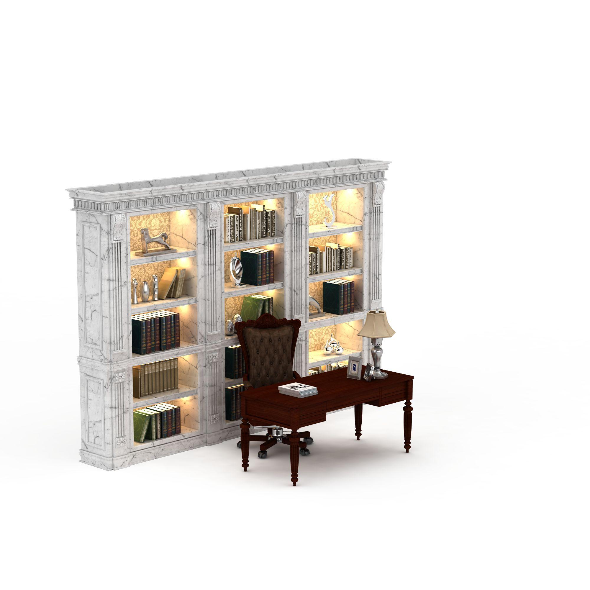 现代 上传时间 2015/12/24  关键词:书柜3d模型办公室书柜3d模型简欧