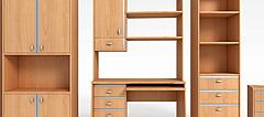 实木衣柜模型3d模型