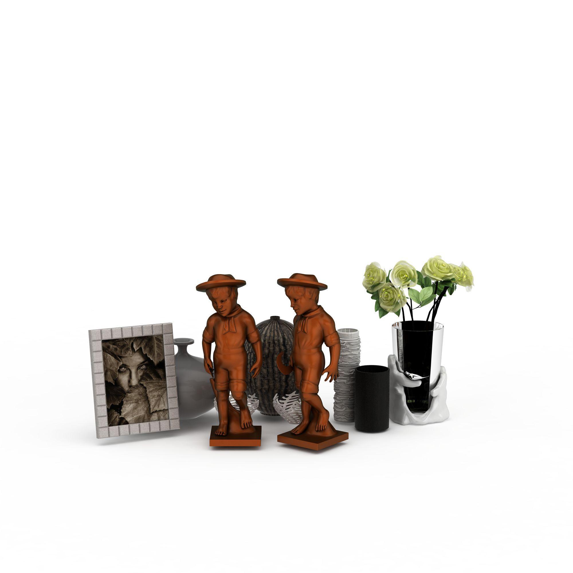 日用饰品 陈设品 室内摆件3d模型 室内摆件png高清图  室内摆件高清图