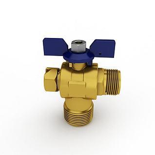 管件管材3d模型