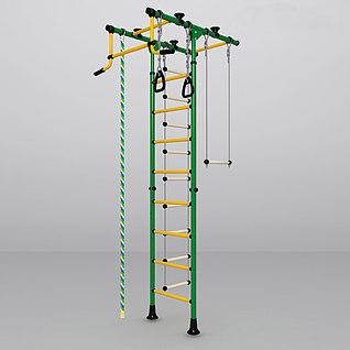 专业健身器材3d模型