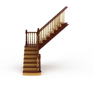 客厅<font class='myIsRed'>楼梯</font>3d模型