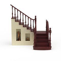 室内楼梯模型3d模型