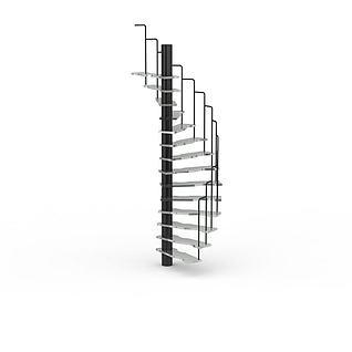 简易旋转楼梯3d模型